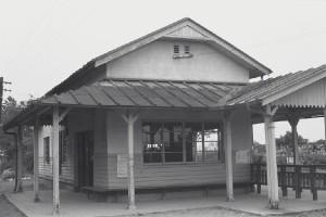 江若鉄道真野駅舎