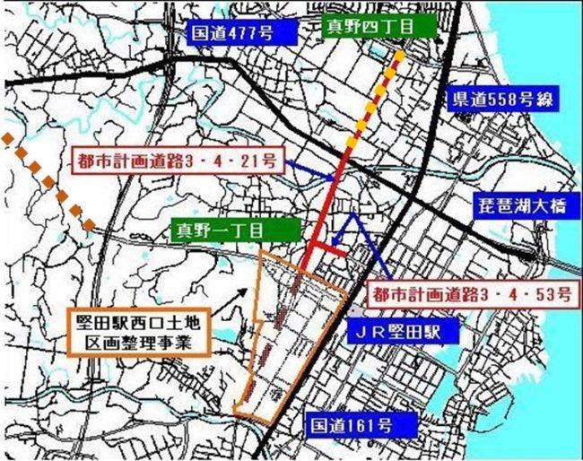 都市計画道路3421(3工区)
