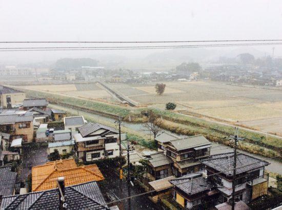 真野の降雪