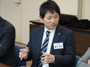 藤井哲也 社会福祉協議会との意見交換